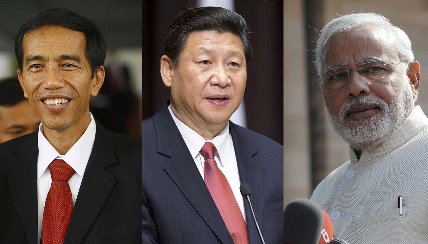 Modi-Widodo-Jinping