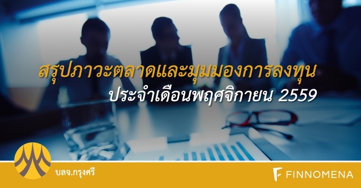 ksam-สรุปภาวะตลาด บลจ กรุงศรี