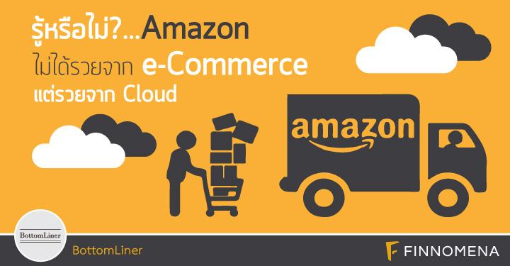 รู้หรือไม่ Amazon ไม่ได้รวยจาก e-Commerce แต่รวยจาก Cloud