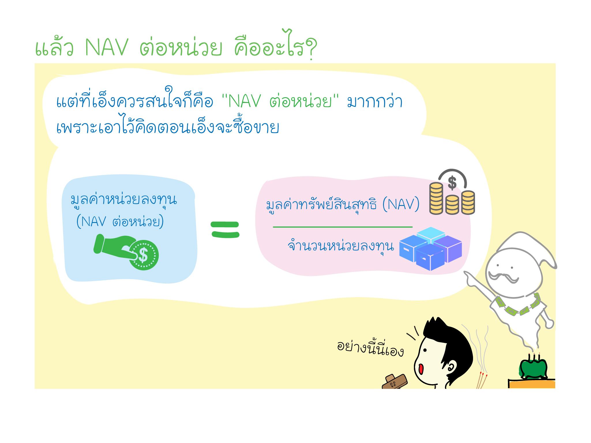 อยากซื้อกองทุน NAV คืออะไร? เลือกยังไง? ศาลเจ้าพ่อลงทุน จะบอกให้