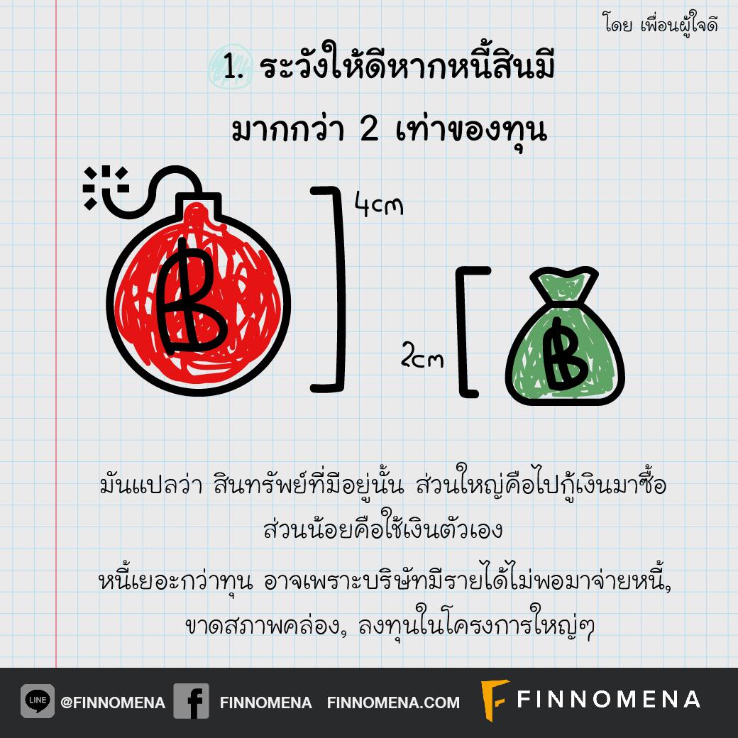 แกะปริศนางบ #1: แค่ดูหนี้สินและทุน ก็บอกสุขภาพบริษัทได้