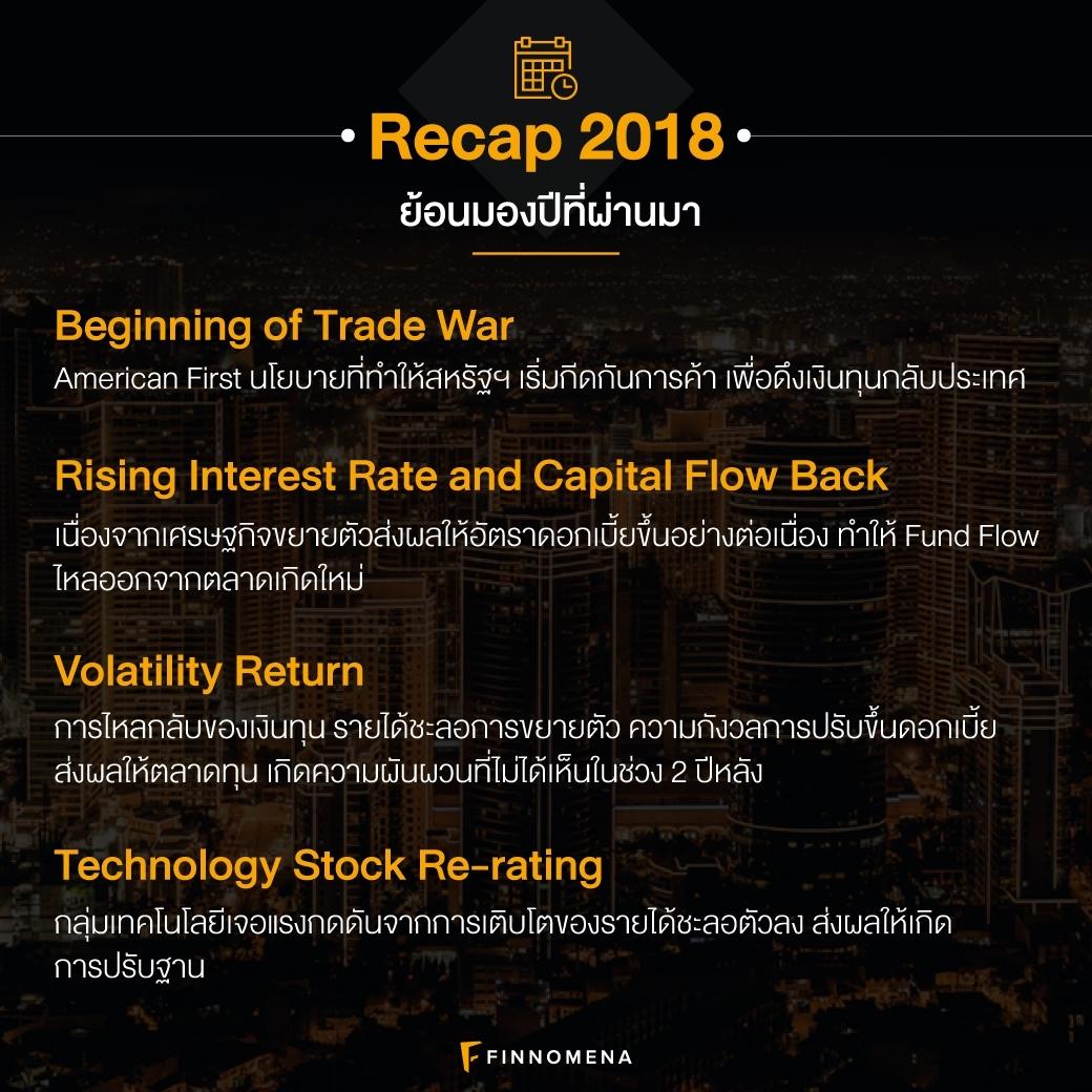 """""""ปีหน้าลงทุนอะไรดี?"""": มุมมองการลงทุนปี 2019 โดย FINNOMENA IC"""