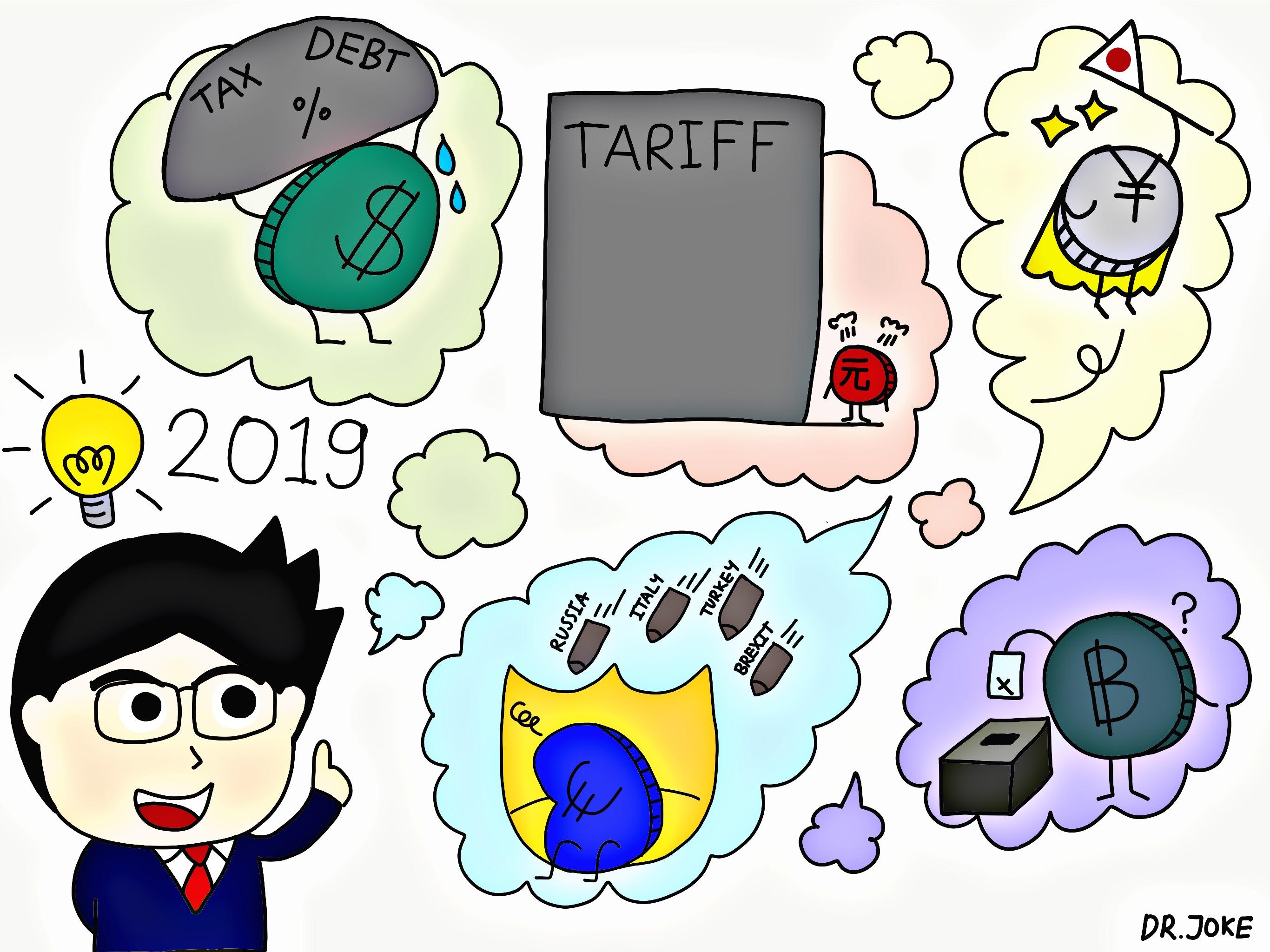 ความจริงในปี 2018 และจินตนาการในปี 2019