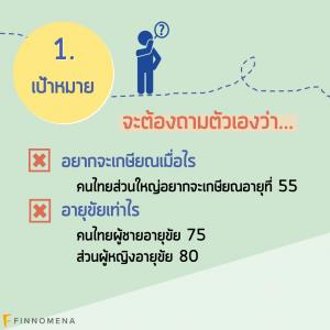 4 ขั้นตอนวางแผนเกษียณ (แค่ LTF RMF ไม่พอ!)