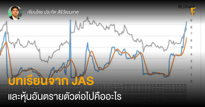 บทเรียนจาก JAS และหุ้นอันตรายตัวต่อไปคืออะไร