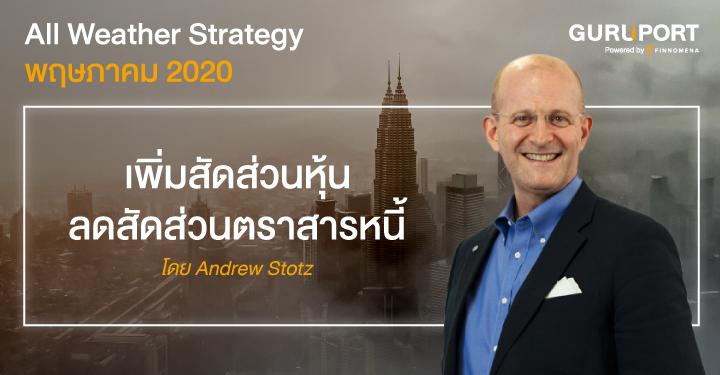 All Weather Strategy พฤษภาคม 2020: เพิ่มสัดส่วนหุ้น ลดสัดส่วนตราสารหนี้