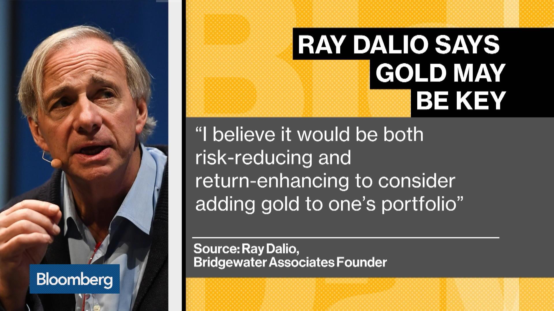 ray dalio gold fund กองทุนทอง