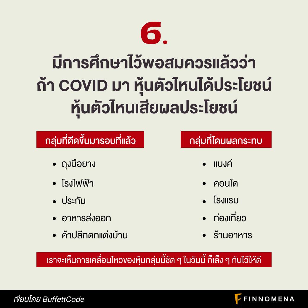 9 ข้อคิดลงทุน จากการระบาดของ COVID รอบใหม่ กับผลกระทบหุ้นไทย